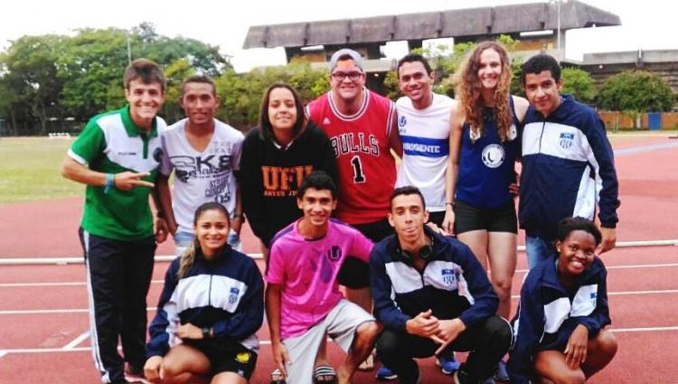 A Equipe de Atletismo da UFU particpou no dia 09 de outubro do Troneio Universitário Adhemar Ferreira da Silva em São Paulo/SP